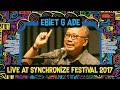 Ebiet G Ade Live At Synchronizefest - 7 Oktober 2017