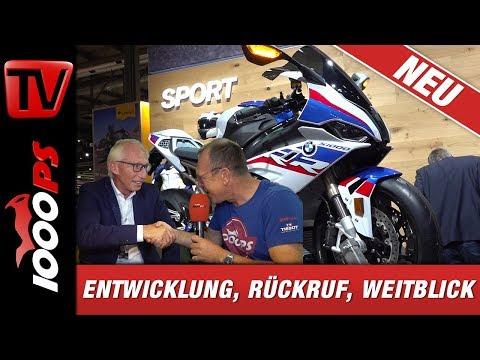 Entwicklung, Rückruf, Weitblick - BMW Motorrad Entwicklungsleiter Prof.Dr. Schaller & Zonko sprechen