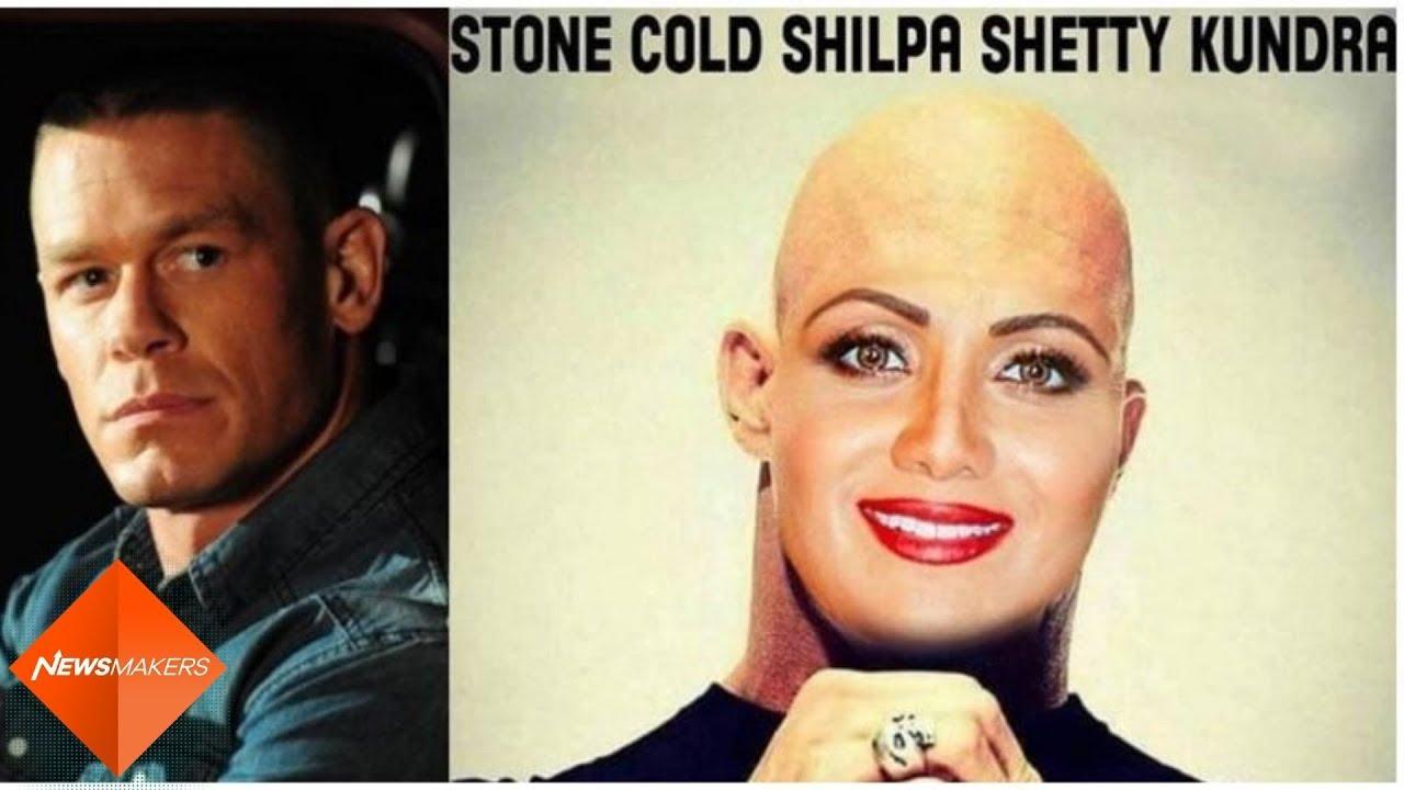 Shilpa Shetty Calls Her 'John Cena Stone Cold' Look