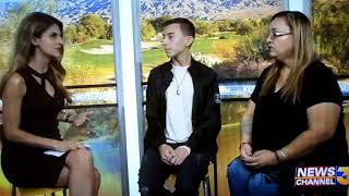 Draven Bennington - Live on Kesq News Channel 3