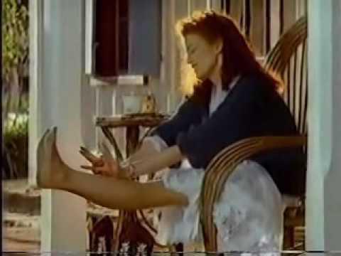 No Nonsense Pantyhose ad from 1989  Nail Polish