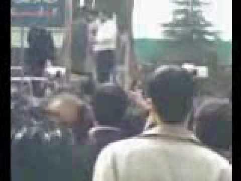 IRAN islamic lashing punishment in public