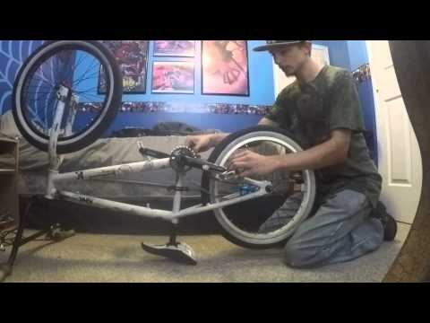 How-To(2); How to attach your rear wheel BMX