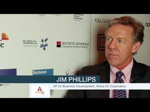 Drake Lawhead talks to Jim Phillips from Africa Oil Corporation