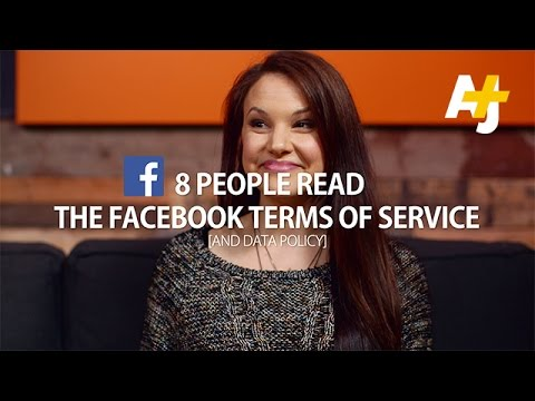8 People Read The Facebook Terms Of Service For You (And Data Policy)