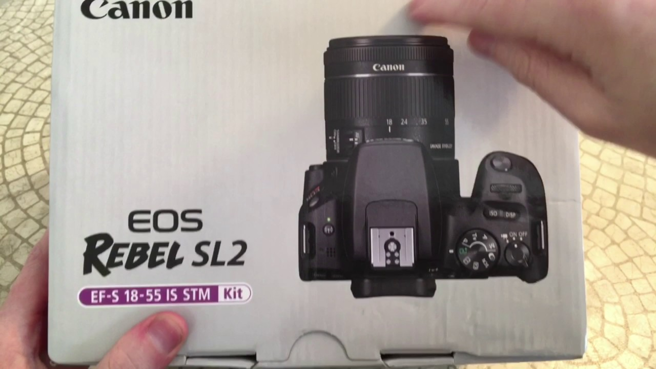 canon eos rebel sl2 dslr camera