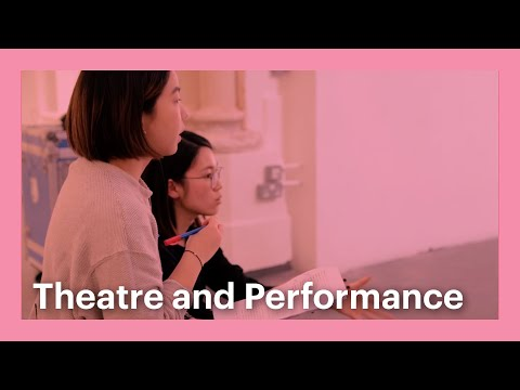 Meet the students of Goldsmiths - Theatre and Performance