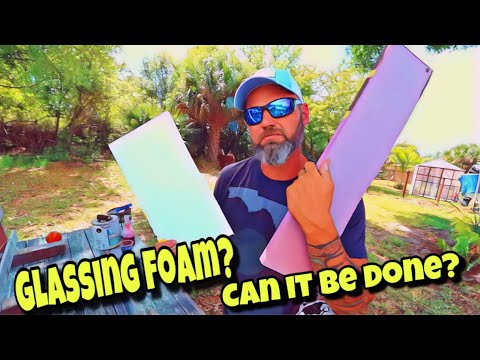 How To Fiberglass Foam Board (on the cheap)