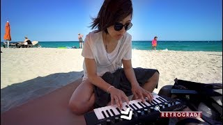 Fugue at the Beach (with the Yamaha Reface)