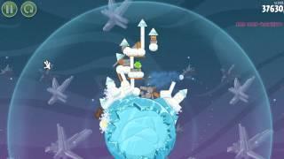 Angry Birds Space Gameplay/Walkthorugh Part 6 (Boss Fight)