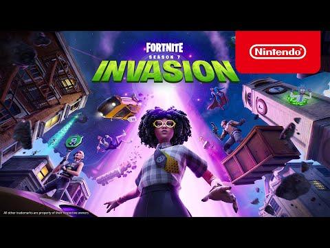 Fortnite Chapter 2 - Season 7 Invasion Story Trailer - Nintendo Switch - Nintendo thumbnail