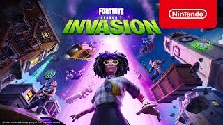 Fortnite Chapter 2 - Season 7 Invasion Story Trailer - Nintendo Switch