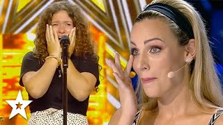 GOLDEN BUZZER Audition Moves Judge To Tears! | Got Talent Global