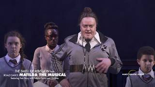 """This week please enjoy """"smell of rebellion"""" from olney theatre center's matilda. featuring: tom storyhttps://olneytheatre.org/onwarddirected by peter flynnch..."""