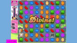 Candy Crush Saga Level 464 NEW Version No Boosters