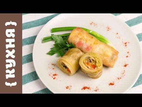 Голубцы вегетарианские рецепт пошагово с фото