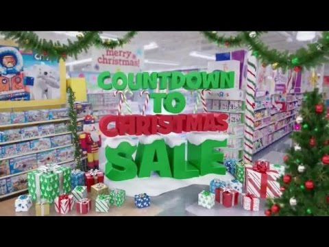 TV Commercial - Toys R Us Countdown To Christmas Sale - Toys Kids ...