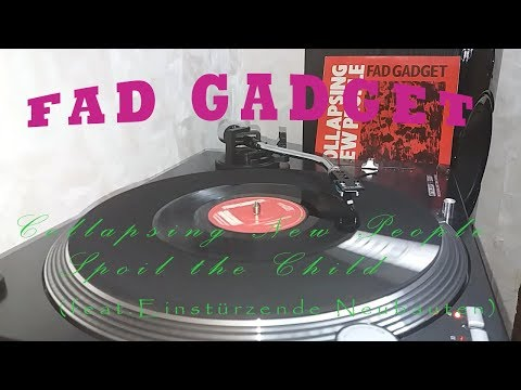 Fad Gadget ‎– Collapsing New People 7