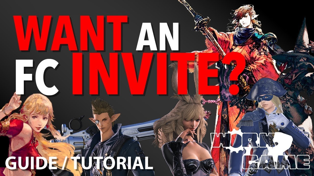 final fantasy 14 how to join a free company