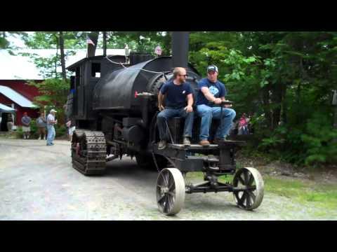 Lombard Steam Log Hauler Run