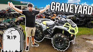 Taking my Can-Am to it's RESTING PLACE! | Saying My Good Byes