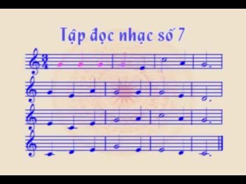 Tập đọc nhạc số 7 lớp 6