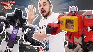 ПАПА РОБ и ТРАНСФОРМЕРЫ продолжают играть в Transformers: Robots In Disguise