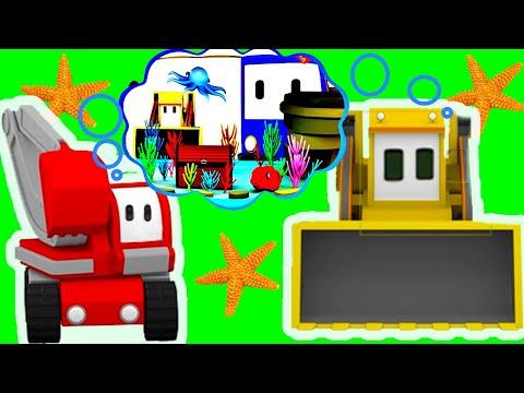 Akwarium ucz się z Małymi Samochodzikami  Bajki Edukacyjne dla Dzieci