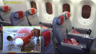 Norwegian Boeing 787-8 Dreamliner Premium Class Stockholm-Lauderdale [AirClips full flight series]