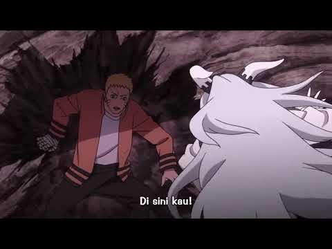 Naruto Sasuke Boruto vs Momoshiki full fight sub indo