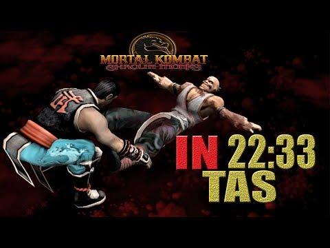 Mortal Kombat Shaolin Monks KUNG LAO | IN 22:33 (PS2)【TAS】 thumbnail