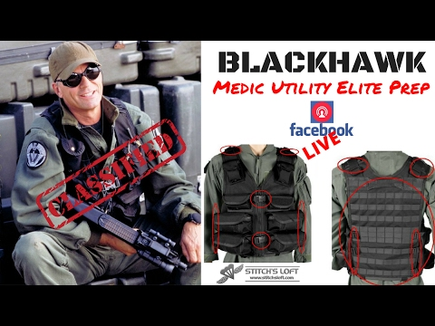 Stargate Medic / Utility Elite Tac Vest Prep for Conversions by Stitch's Loft