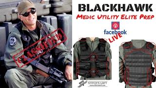 Stargate Medic / Utility Elite Tac Vest Prep for Conversions by Stitch's Loft