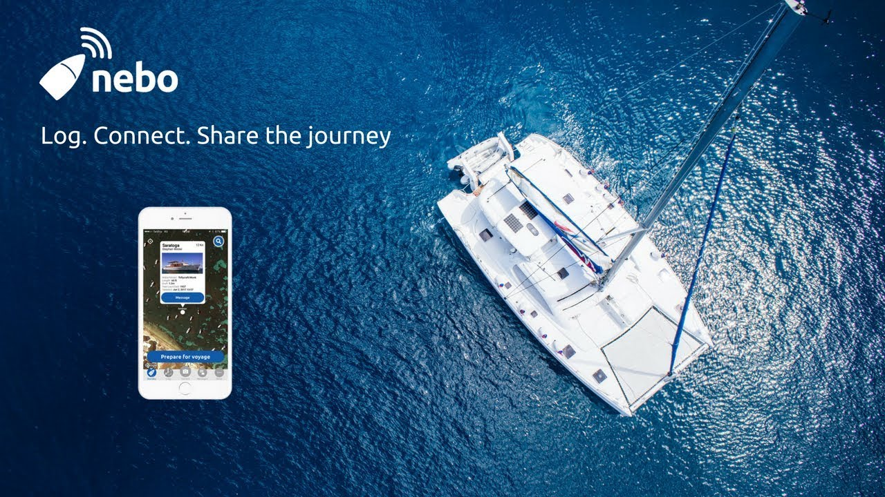 Nebo is a mobile app that automatically logs your boating