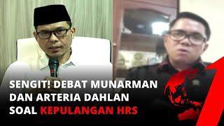 Download Debat! Munarman dan Arteria Dahlan Soal Kepulangan Habib Rizieq | tvOne