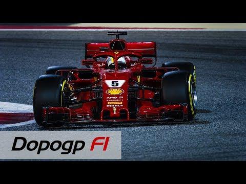 F1, GP Bahrain 2018: super Vettel vince al fotofinish a Sakhir