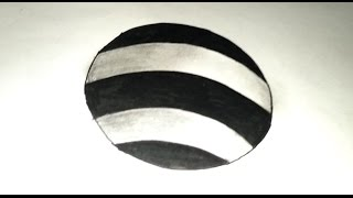 HOW TO Draw 3D Hole.Draw 3D Circular Hole Trick Art for Kids