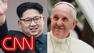 Kim Jong Un's audacious gesture to Pope Francis