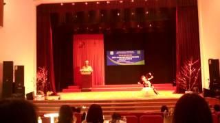 Múa đôi đẹp- Sinh viên Đại học Văn hoá Hà Nội