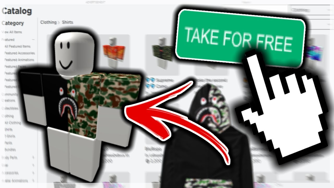 June How To Get Free Clothes In Roblox 2020 No Premium Robux