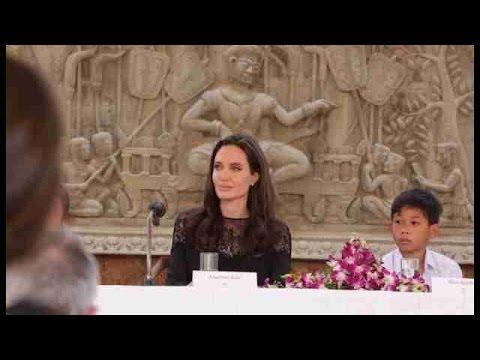 Angelina Jolie estreia filme sobre genocídio cambojano em Siem Reap
