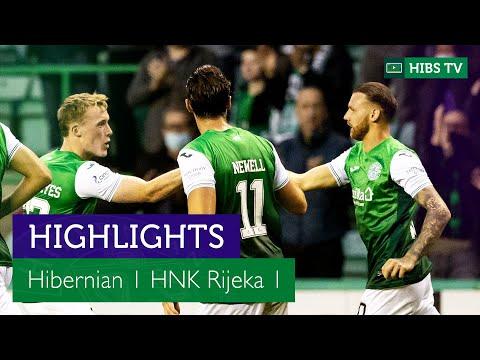 Hibernian Rijeka Goals And Highlights