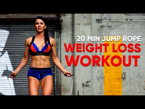 20 MIN Jump Rope Workout To Lose Weight