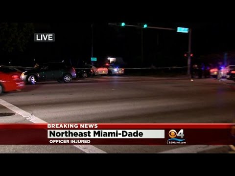 Officer Assaulted In NW Miami-Dade, Police Search For Suspects