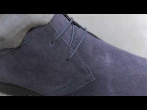 LANCASTER NAVY // REDFOOT SHOES
