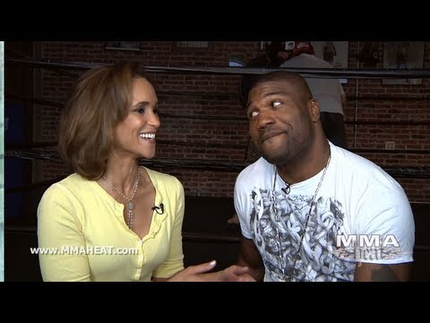 Rampage Jackson on Leaving the UFC, TRT + Avenging the Loss to Shogun