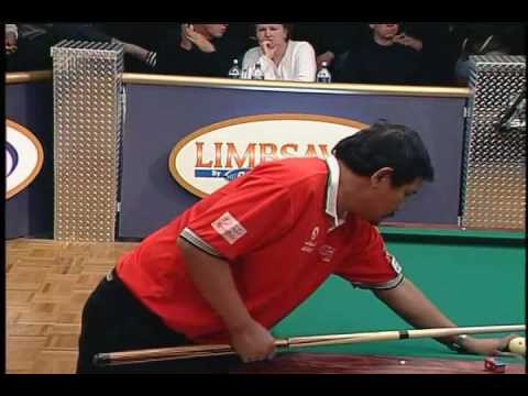 efren reyes vs jimmy wetch DCC 2004 9ball