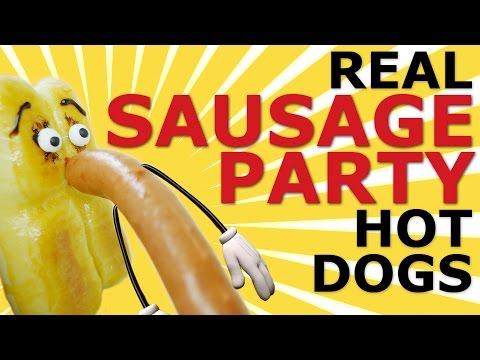 Sausage party movie real hotdog buns Brenda Bunson creative recipe #4 腸腸搞轟趴熱狗包