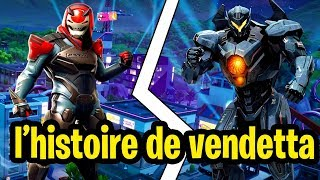 THE HISTORY TRISTE OF SKIN PALLIER 100 SAISON 9 ON FORTNITE!