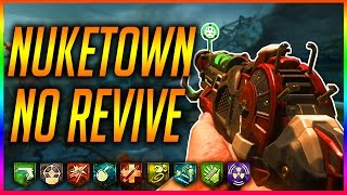 """NUKETOWN"" 4th WORLDWIDE NO REVIVE CHALLENGE ~ (Black Ops 2 Zombies Gameplay)"